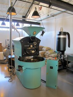 Coffee Company has opened its new roastery in Amsterdam's East. This is a classic example of a big national high street brand making a successful move into the real specialty coffee scene. Highly recommended!
