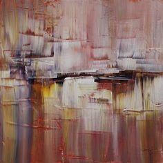 art - Ulla Maria Johanson: Code Acrylic on board, Gerhard Richter Painting, Big Houses, Home Decor Trends, Abstract Art, Sweet Home, Coding, Bad, Pastel, Creative