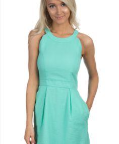 || Taylor Monroe Boutique || Lauren James Landry Dress- Seafoam. Women fashion spring dress
