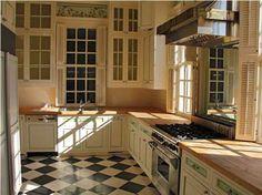 1770 Kitchen design meets 21st century.