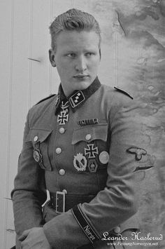 Norwegian SS volunteer. Today, many Norwegians cannot understand why these men served with the Nation that occupied Norway. However, these guys truly believed that Stalin was a greater danger then Hitler. Now with the USSR secret files exposed, we know that Stalin was plotting an attack on Europe in 1944/ USA in 1955!