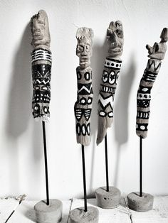 Love these driftwood Totems 20cm 120