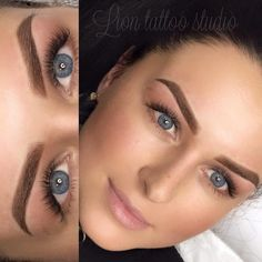 Permanent makeup of eyebrows (immediately after the procedure) Master Violetta You can look at the works of this master by The cost of the procedure is Mircoblading Eyebrows, Henna Eyebrows, Permanent Makeup Eyebrows, Eyebrow Makeup, Eyebrow Design, Perfect Brows, Best Eyebrow Products, Makeup For Green Eyes, Tattoo Studio