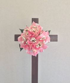 A personal favorite from my Etsy shop https://www.etsy.com/listing/578230074/cemetery-flowers-cemetery-cross-grave