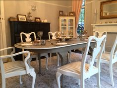 Really Enjoyed Completing My Most Recent Project   A Beautiful Queen Anne  Style Dining Table And