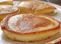 64 Ideas for breakfast recipes healthy quick lunches Quick Healthy Lunch, Healthy Diet Recipes, Healthy Breakfast Recipes, Brunch Recipes, Sweet Desserts, Sweet Recipes, Czech Recipes, Breakfast Pancakes, Fluffy Pancakes