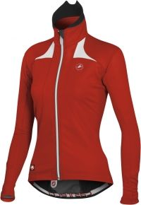 Love the Castelli red! I would love this jacket for the winter, cycling or not.