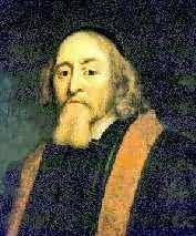 """Jan Amos Komensky, in English John Amos Comenius (1592-1670). Comenius was a Czech teacher, scientist, educator, writer and a protestant bishop. Because of his religion he was forced to leave Bohemia and therefore lived and worked in many different countries in Europe, and thus Comenius became known as the """"Teacher of Nations"""". He has been stamped the """"Father of Modern Education"""" since he came up with new ideas concerning teaching methods that we still use today"""
