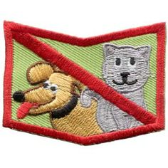 Allergy, Allergen, Allergies, Shock, Peanuts, Nuts, Diary, Eggs, Milk, Fish, Shellfish, Cats, Dogs, Bees, Dust, Patch, Embroidered Patch, Merit Badge, Badge, Emblem, Iron On, Iron-On, Crest, Insignia
