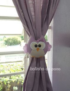 Printing Videos Architecture Home Diy Arts And Crafts, Felt Crafts, Decor Crafts, Diy Crafts, Baby Room Curtains, Curtain Holder, Curtain Ties, Diy Baby Gifts, Felt Birds