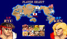 You know this game! SF2! One of the best arcade games 3v4r!