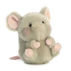 Frisk Mouse Rolly Pet 5 inch - Stuffed Animal by Aurora Plush Pet Cows, Hello Kitty, Pet 5, Cuddle Buddy, Cute Stuffed Animals, Cute Plush, Toy Soldiers, Plushies, Aurora