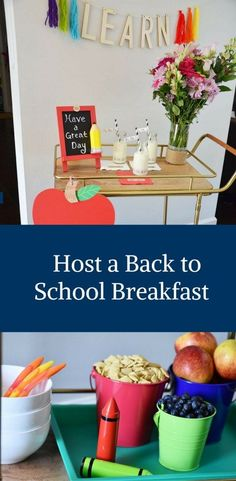Host a Back to Schoo