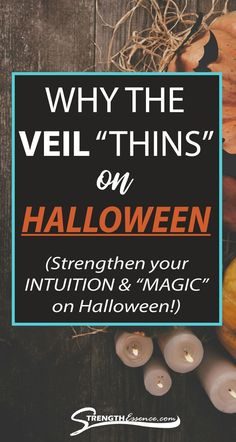Learn Halloween's deeper spiritual origins and why the veil thins on Halloween! Especially, this Halloween 2020 with the full moon! #halloween #spiritualhalloween #halloween2020 #halloweenspiritualmeaning