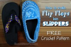 How to make Flip Flop Slippers