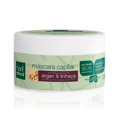 A Máscara de Tratamento Capilar Argan e Linhaça Boni é um produto natural e vegano e rico em extratos e óleos vegetais. Proporciona hidratação intensiva para os cabelos, que ficam macios, com brilho e saudáveis.