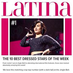 """"""" thank you @Latina!! All cred goes to the best glam team ever @avoyermagyan & @jillpowellglam❤️"""""""
