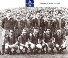 Equipos de fútbol: BARCELONA contra Atlético de Madrid 07/06/1953