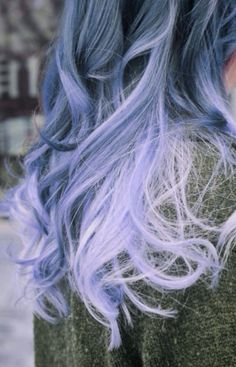 I wonder if I got purple ombre' if it would fade to lavender ombre' like this. I love this color!