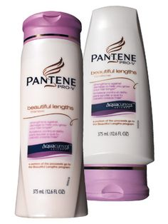 Pantene Pro-V Beautiful Lengths Shampoo and Conditioner - InStyle Best Beauty Buys 2009 Winner #instylebbb