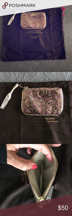 Kate Spade Glittered Wristlet. Brands New Kate Spade Glittered wristlet. kate spade Accessories Key & Card Holders