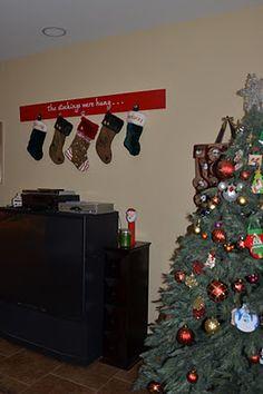 Stocking Hanger Board