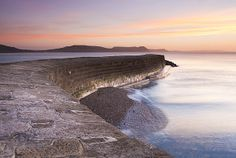 The Cobb, Lyme Regis, by Andrew Wheatley