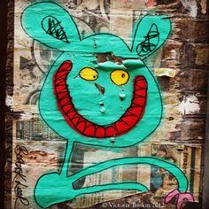 London Graffiti Bortusk Leer