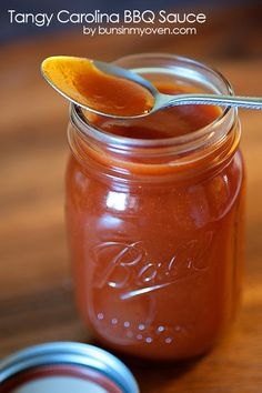 Buns In My Oven Tangy Carolina Barbecue Sauce Recipe