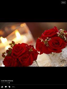 Leigha's flowers.. Simple and elegant!