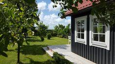 Ons Zweedse huisje van hout in Aagtekerke.
