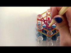 Rainbow Loom® How To: Flower Charm - YouTube