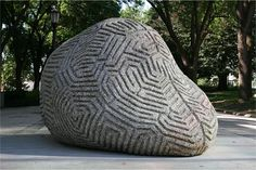 Peter Randall-Page, Recent Projects, 2011 ''Ridge and Furrow'