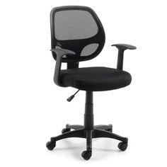 Silla de escritorio juvenil Acta, de gran calidad y confort. Altura regulable, ruedas y giratoria