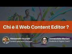 Chi è il WEB Content Editor? - YouTube