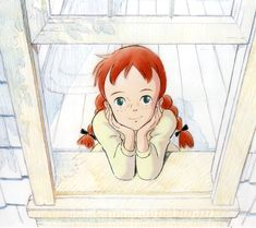 """Illustration for 'Akage no Anne: Green Gables e no Michi' movie Cartoon Profile Pictures, Cartoon Images, Cartoon Art, Manga Art, Anime Art, Ghibli, Old Cartoons, Color Pencil Art, Anime Love"