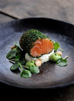 Tanner Brothers | beautiful dish from recent shoot. Image by David Griffen Photography  #plating #presentation