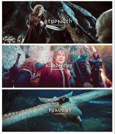 Bilbo Baggins.  The Hobbit:  An Unexpected Journey
