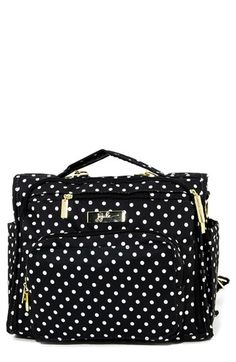 Ju-Ju-Be 'Legacy BFF - The First Lady' Diaper Bag available at #Nordstrom-except in the black and white stripe not polka dots