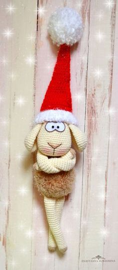 PDF Барашек Бебеша. Бесплатный мастер-класс, схема и описание для вязания игрушки амигуруми крючком. Вяжем игрушки своими руками! FREE amigurumi pattern. #амигуруми #amigurumi #схема #описание #мк #pattern #вязание #crochet #knitting #toy #handmade #поделки #pdf #рукоделие #барашек #баран #бараш #овечка #овца #sheep #новогодний Crochet Toys Patterns, Amigurumi Patterns, Stuffed Toys Patterns, Crochet Designs, Crochet Sheep, Cute Crochet, Crochet Dolls, Christmas Projects, Christmas Time