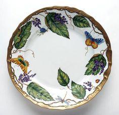 Wildberries Lavender Dinnerware by Anna Weatherley