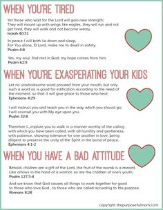 8 Scripture Verses for Struggling Moms {Free Printable} - The Purposeful Mom