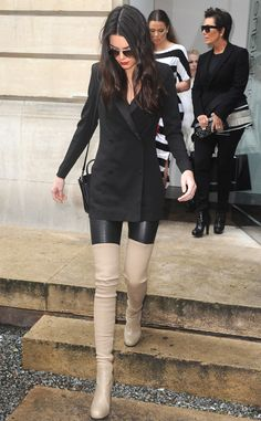 How awesome are Kendall Jenner's boots?! Obsessed!