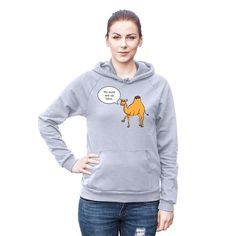 #NEW in the MOJO Shop is our fun Camel Toe Hoodie!  Check it out at http://ift.tt/2cOOWVu (active link in our bio).   #mymojoyoga #mojolife #cameltoes #whatareyoulookingat #hoodie