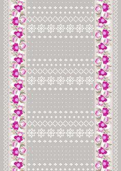 vallila fabric print