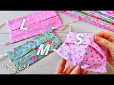 😷 Reusable mask without a sewing machine 😷 S, M, L sizes (for children, teenagers and adults) - 😷 Ещё один ВАРИАНТ МНОГОРАЗОВОЙ МАСКИ без машинки 😷 - Sewing Hacks, Sewing Tutorials, Sewing Crafts, Beginners Sewing, Small Sewing Projects, Pdf Sewing Patterns, Easy Face Masks, Diy Face Mask, Homemade Face Masks