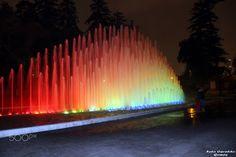 Fonte Luminosa. - Parque de la Reserva - Parque das aguas em Lima, Peru.