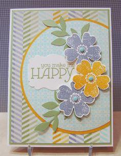 Savvy Handmade Cards: You Make Me Happy Card