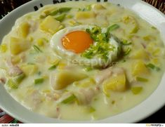 Czech Recipes, Potato Dishes, How Sweet Eats, Bon Appetit, Cheeseburger Chowder, Mashed Potatoes, Veggies, Food And Drink, Soup