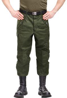 Swedish M59 field trousers, green, surplus, £14.99